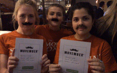 Movember at the Smokin' Fox