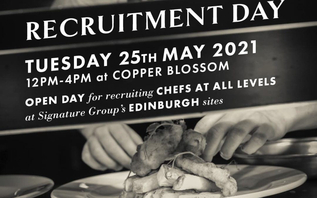 Edinburgh: Chef Open Recruitment Day