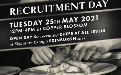 Edinburgh: Chef Open Recruitment Day